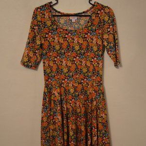 LuLaRoe Nicole Floral Dress